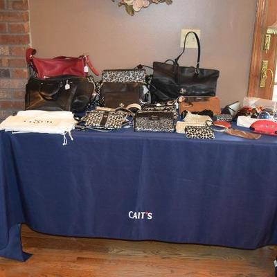 Coach Purses, Wallets, Large Variety