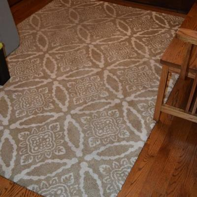 Neutral Print Area Rug