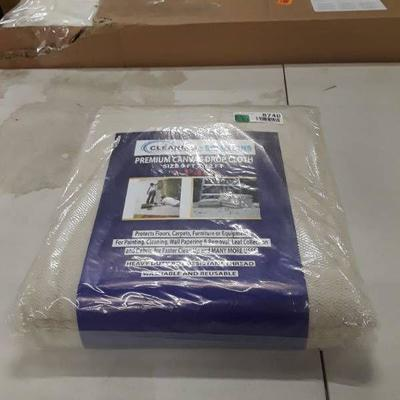 Cleaning Solutions Cotton Canvas Drop Cloth 9' X 1 ...