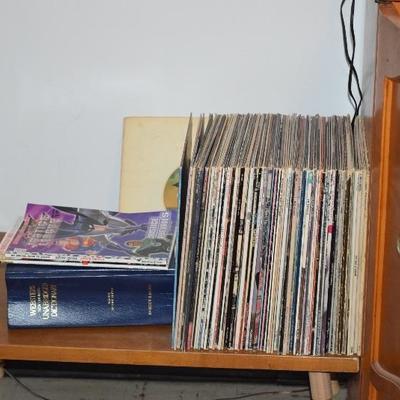 Albums & Dictionary
