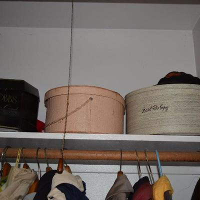Dobbs, Marshall Fields Hat Boxes