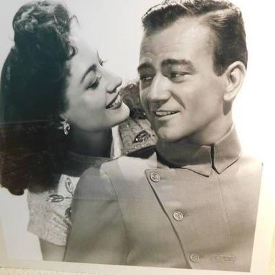 John Wayne & Joan Crawford