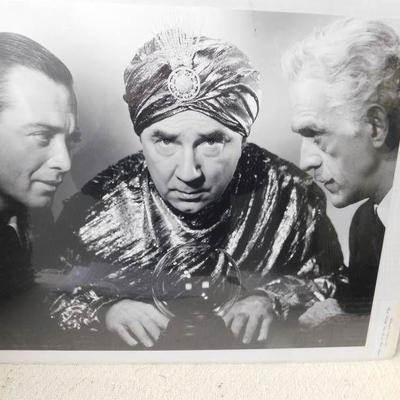 Boris Karloff, Peter Lorre & Bela Lugosi