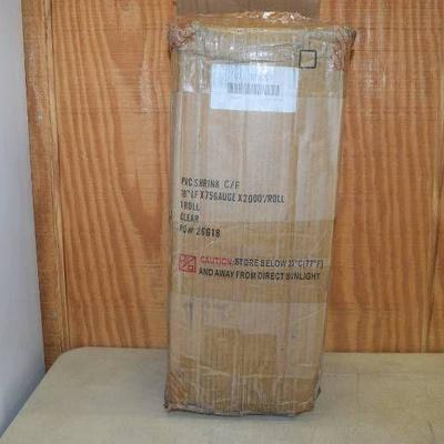 2000 Foot Roll PVC Heat Activated Shrink Film