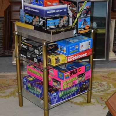 Side Table, Toys, & Games