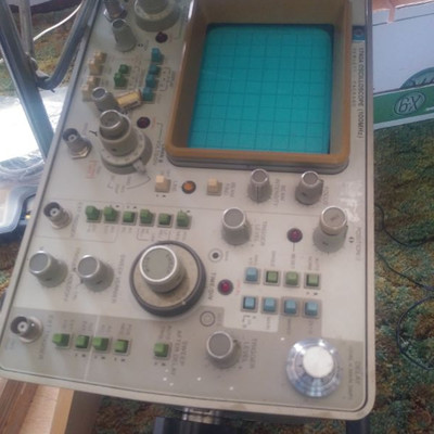 vintage oscilloscopes that work