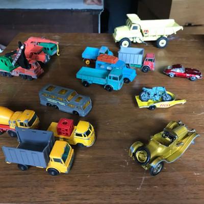 Lesney Matchbox cars