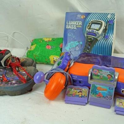 Electronic Fishing Game - SpiderMan Wheelie Shoes ...