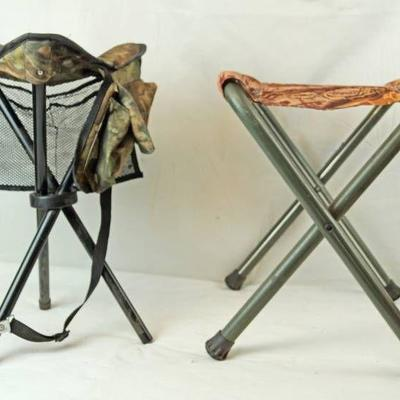 Lot of Two Camping Seats