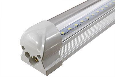 25 LED Tube Light Fixtures with Hangers and Connec ...