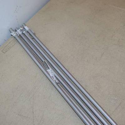 5 Pieces Hillman Aluminum Round Rod