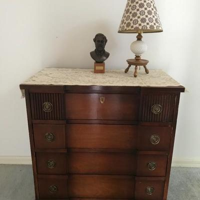 Antique chest of drawers 29W  X 16 d x 29 tall