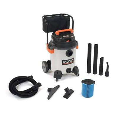 60L High-Performance Stainless Wet Dry Vac