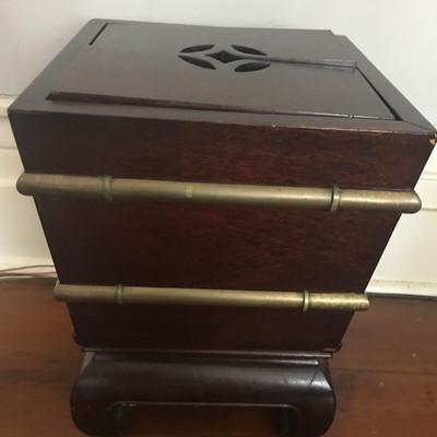 Antique wine cooler $350 12 X 12 17