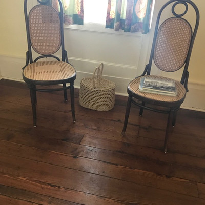 Cane bentwood chair $75 each 2 available