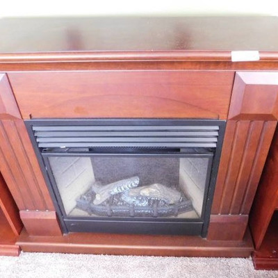 Electric Remote Controlled Fireplace