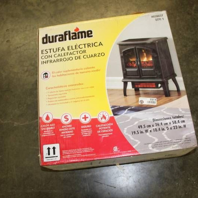 DuraFlame Stove Infrared Quartz Heater