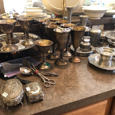 Unique, quality silver pieces