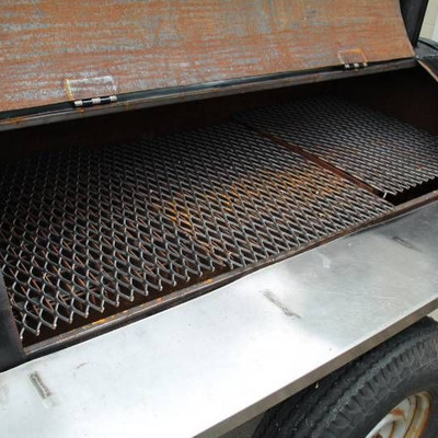 Grill Two Burner On Trailer..
