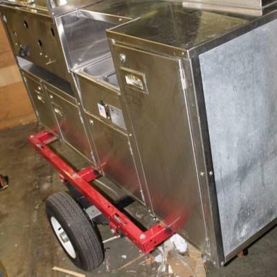 Carts of Colorado Hot Dog Cart..
