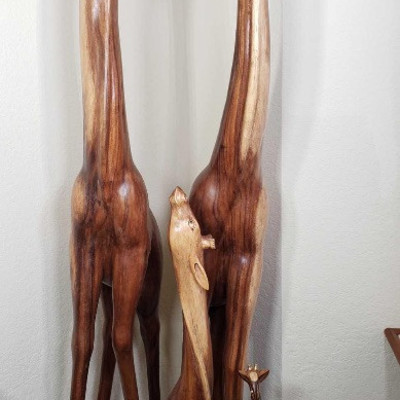 128:  Hand carved from Javanese Ebony. 67