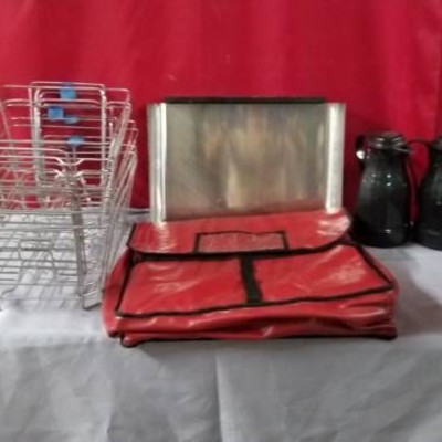 Coffee Carafe's, Insulated Tote, Catering Wire Rac ...