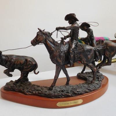 Bronze Cowboy Two Step