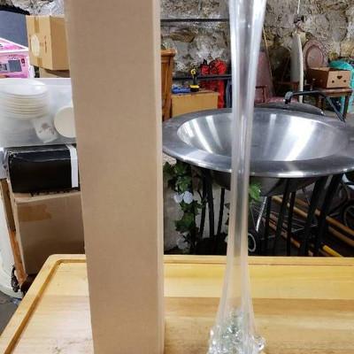 11 long Stem vases