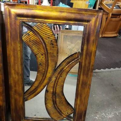 Kirklands Nice Metal Wall Decor Mirror. 22 x 35 1 ...