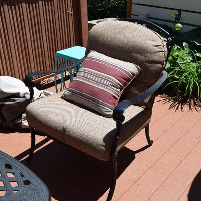 Patio Chair and Cushions