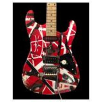 Frankenstrat guitar -- Eddie Van Halen