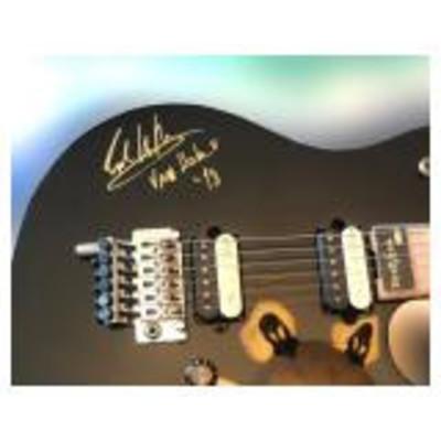 Peavey Wolfgang signed (1998)  Eddie Van Halen guitar.  Includes original shipping correspondence to 5150 Studio