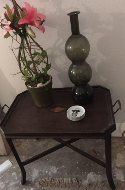 Butler Style End Table SGA014 https://www.ebay.com/itm/123796966861