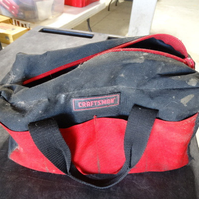 Craftsman tool bag with contents.