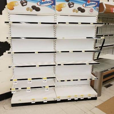 (2) Merchandising racks