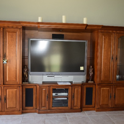 Entertainment Unit and T.V.