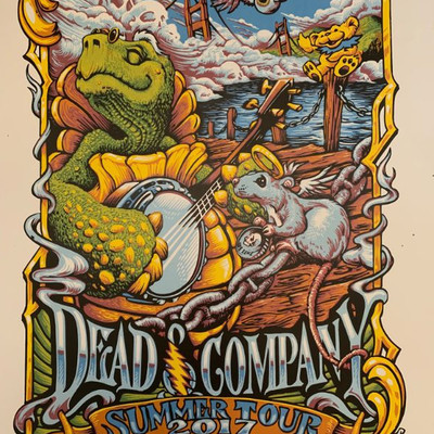 Dead and Company Summer Tour 2017 Poster