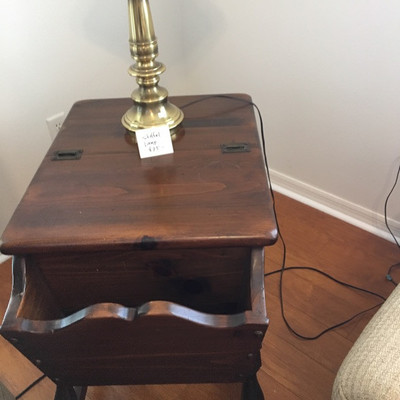 Early American Side Table -- $38