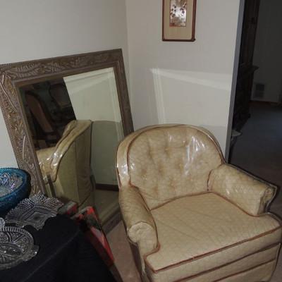 Matching club chair Deville Furniture Co. North Carolina