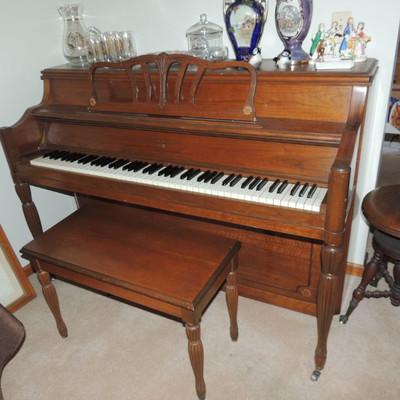 Hardman Peck & Co. upright piano