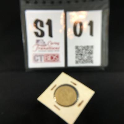 1847 Liberty Gold Ten Dollar Coin https://ctbids.com/#!/description/share/178434