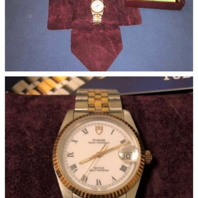 Tudor by Rolex Prince Oysterdate #74033 w/ box, papers and original purchase receipt