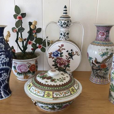 NNS142 Vases, Casserole Dish, and More