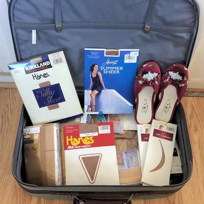 NNS197 Suitcase Full of Panty Hose