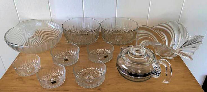NNS138 Glassware Assortment