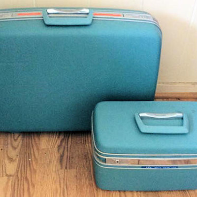 NNS146 Vintage Samsonite Luggage