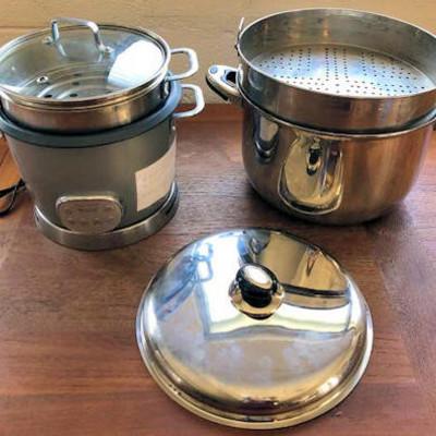 NNS008 Rice Cooker & Stock Pot