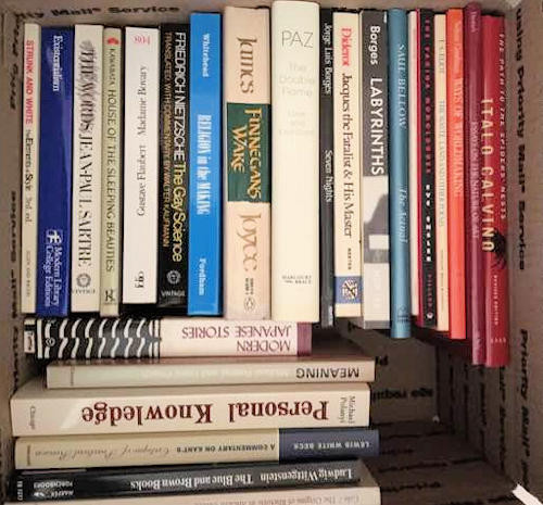 NNS192 Collection of Books