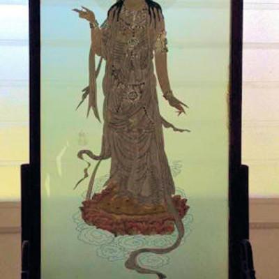 NNS151 Silk Embroidery Art