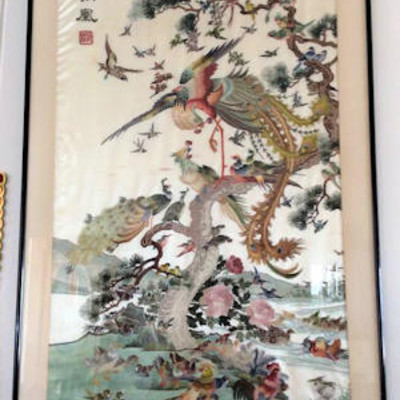 NNS115 Gorgeous Embroidered Picture